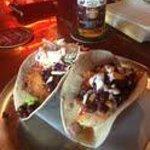 The 115 Taco (Mahi Mahi) & Bang Bang Shrimp Taco