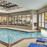 Indoor outdoor heated pool with Fitness Center