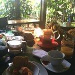 fresh breakfast.