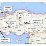 """""""Classics of Turkey"""" Itinerary"""