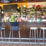 inside pool bar