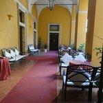 Dining area in the atrium