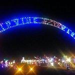 Christmas village at Irvine park 2013