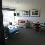 Lounge area in one bedrrom