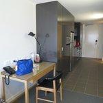 Looking into kitchen & front door