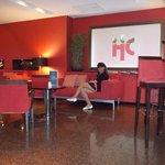 Sala de Espera na Recepção do Hotel Catalonia Mikado