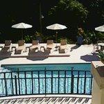 Beautiful view of pool area