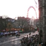 View from Room 115, Christmas Festival