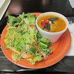 BLT Salad n Chicken Tortilla Soup