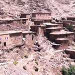 along the road in the high atlas