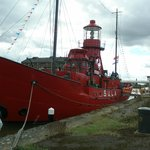 Sula Lightship (permanently mored up in the Docks)