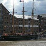 Gloucester Dock during the Tall Ships festival