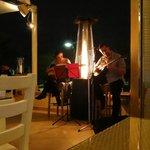 The band at Mykonos