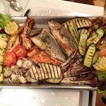 Mix fish grill for 2 per.