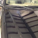 Damage done to our car by hotel construction
