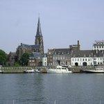 Saint Servaasbridge, Maastricht, Paises Bajos.