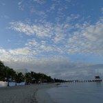 el clima perfecto para disfrutar el dia en la playa