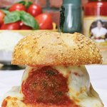 Meatball Parm at Mamma Lombardi's