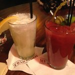 Gin Fizz and Bloody Mary