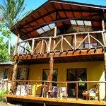 Cabaña Pou, exterior, terrazas