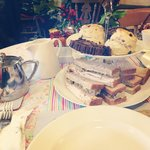 Festive afternoon tea for 2!