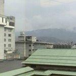 天領閣535号室からの景色(左)