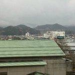 天領閣535号室からの景色(中央)