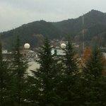 天領閣535号室からの景色(右)
