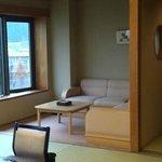 天領閣535号室(和室)居間部分