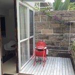 Outdoors bedroom porsche