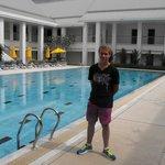 Pool area at Resort