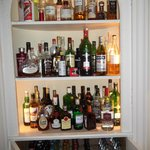 The 'famous' drink cabinet...gutted no Bacardi!!