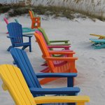 more colorful chairs