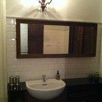 わりとゆったりとしたバスルーム