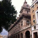 Arquitetura em Genova! Cidade espetacular e surpreendente!