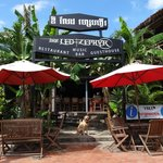 Led Zephyr Sihanoukville Live Music Nightlife Entrance from Serendipity Beach Road
