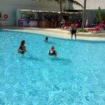 Pool area (facing pool)