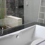big indoor and outdoor bathroom