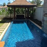 Our own private pool...