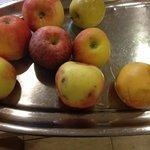 Fruta del buffet