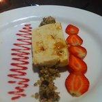 Greek Yoghurt & Honeycomb Parfait with Walnut Granola, delightful