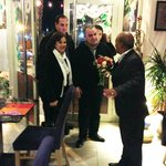 Hon. Anglu Farrugia, Speaker of Parliament of Malta is welcomed in Incredible Asia Restaurant