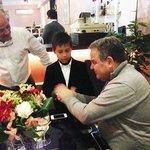 Hon. Anglu Farrugia is in company of M. Q Noor and Khatija Noor