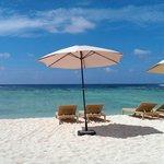 """View from """"honeymoon"""" cabana"""