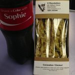"""""""Coronation Chicken"""" (the Coke is not from V Revolution)"""