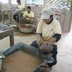 Finishing Stone Carving