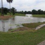 One of three beautiful water hazards (hazards? really??)