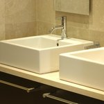 Twin basins in our twin rooms