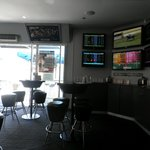 Cafeteria and betting area