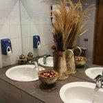 Dettaglio del bagno (cura dei particolari)